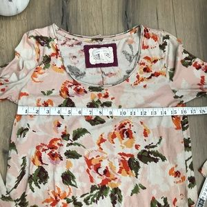 Anthropologie Tops - Pure + Good for Anthropologie Floral knit top S